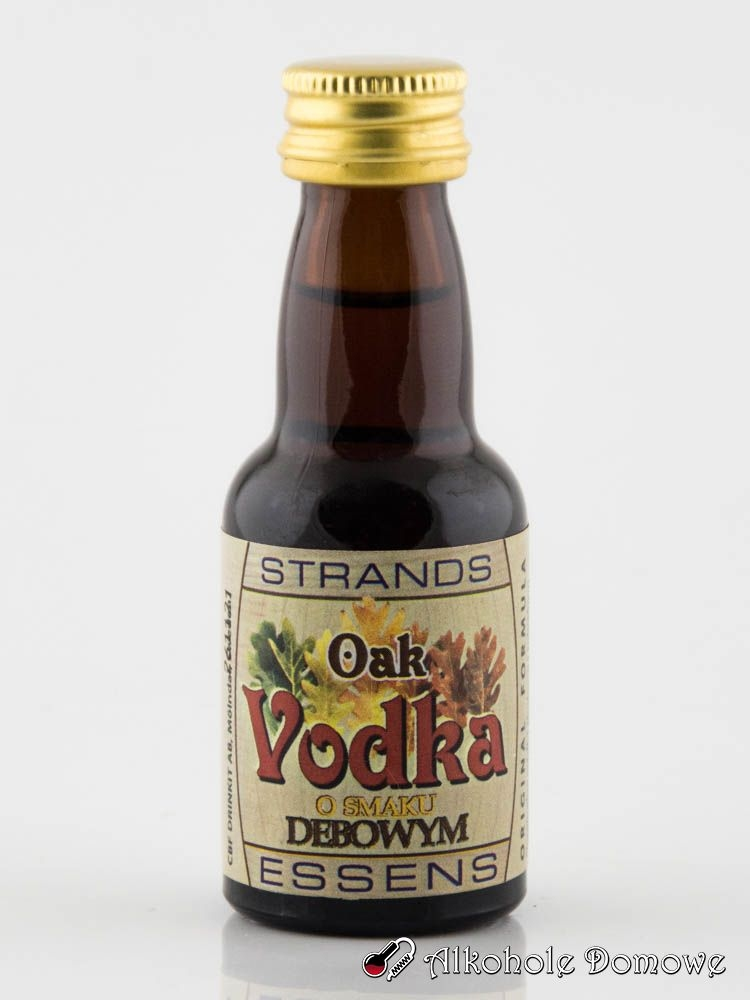 Zaprawka Wódka Dębowa to oparta na naturalnych składnikach zaprawka do alkoholu. W prosty sposób pozwala uzyskać smak dębowej wódki.