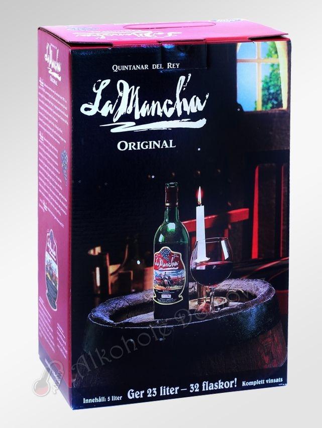Zestaw zawiera komponenty do przygotowania 23 litrów wina czerwonego typu Bordeaux