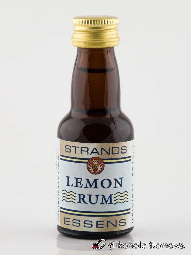 Zaprawka do sporządzenia pysznego rumu cytrynowego.