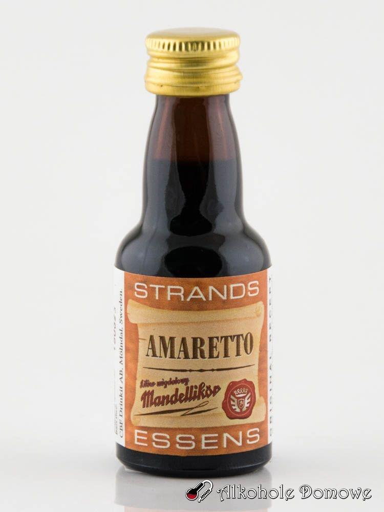 Zaprawka Amaretto to oparta na naturalnych składnikach zaprawka do alkoholu. W prosty sposób pozwala uzyskać smak klasycznej wódki migdałowej.
