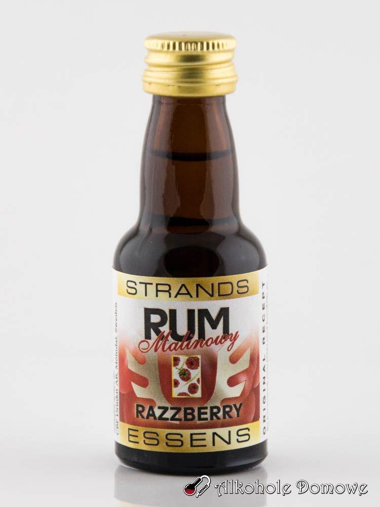 Pyszna zaprawka o smaku rumu malinowego.