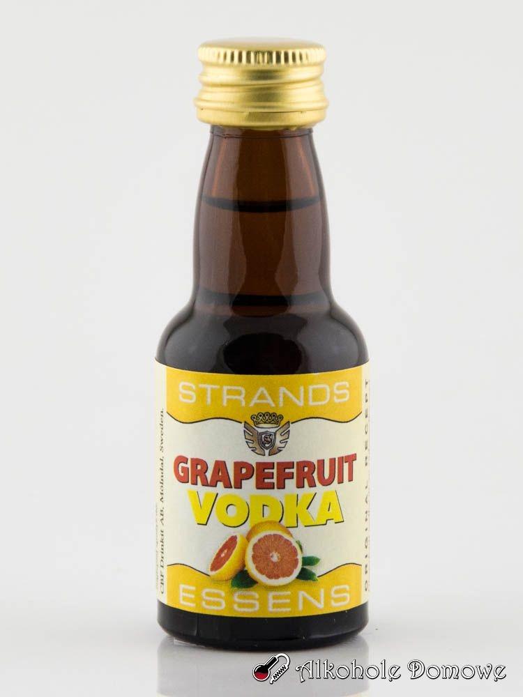 Zaprawka Grejpfrut Vodka to oparta na naturalnych składnikach zaprawka do alkoholu. W prosty sposób pozwala uzyskać smak klasycznej wódki grejfrutowej.