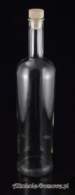 Klasyczna butelka do nalewek.