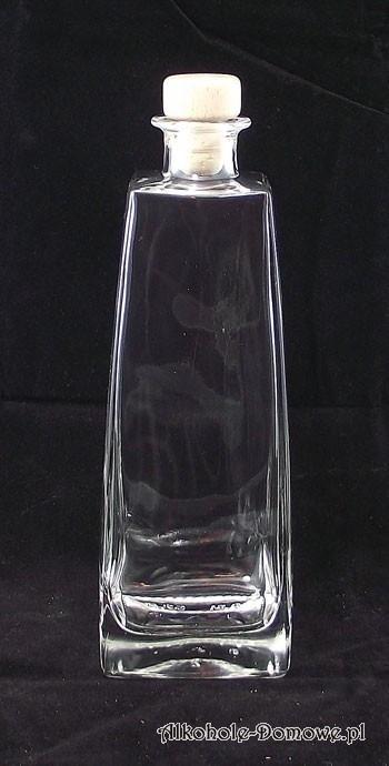 Piękna butelka do alkoholu.
