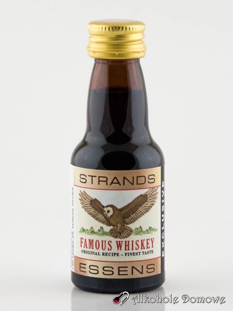 Zaprawka Famous Whisky to oparta na naturalnych składnikach zaprawka do alkoholu.