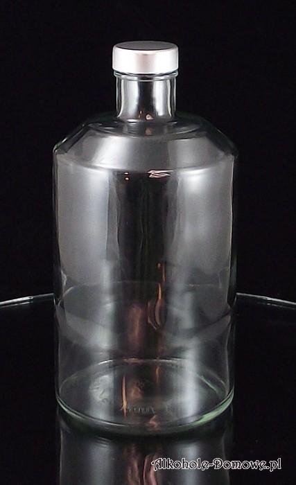 Duża, pojemna butelka na wino, nalewki i inne alkohole domowe.