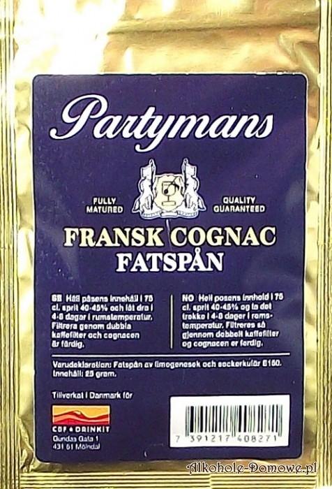 Miał dębowy typu Cognac.