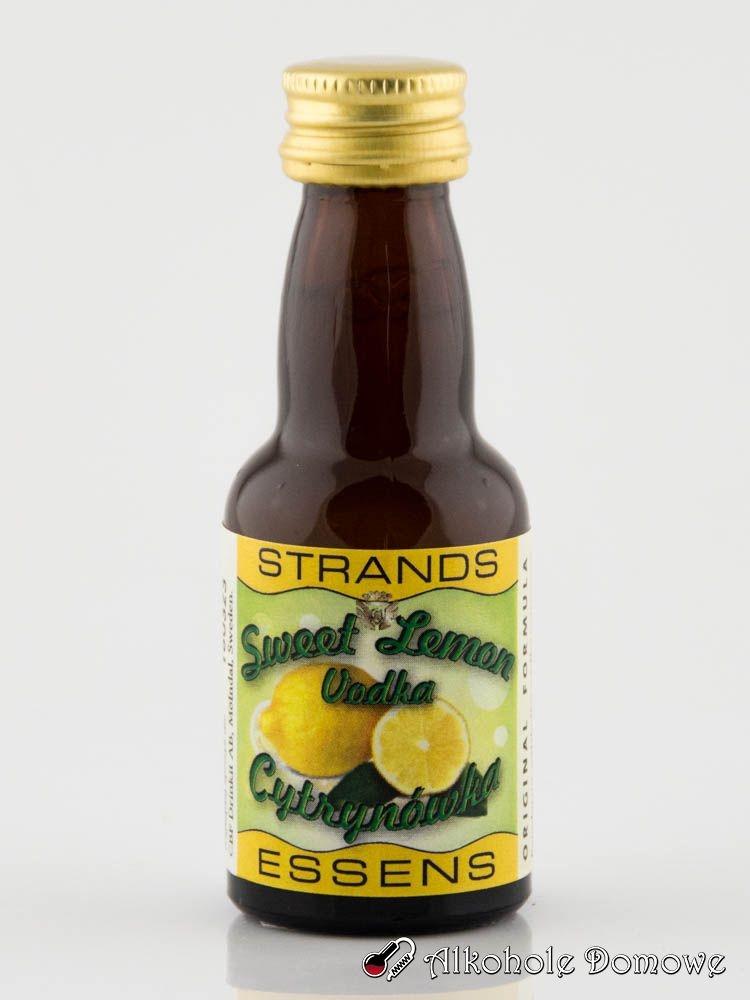 Zaprawka Sweet Lemon Vodka to oparta na naturalnych składnikach zaprawka do alkoholu. W prosty sposób pozwala uzyskać smak cytrynówki.