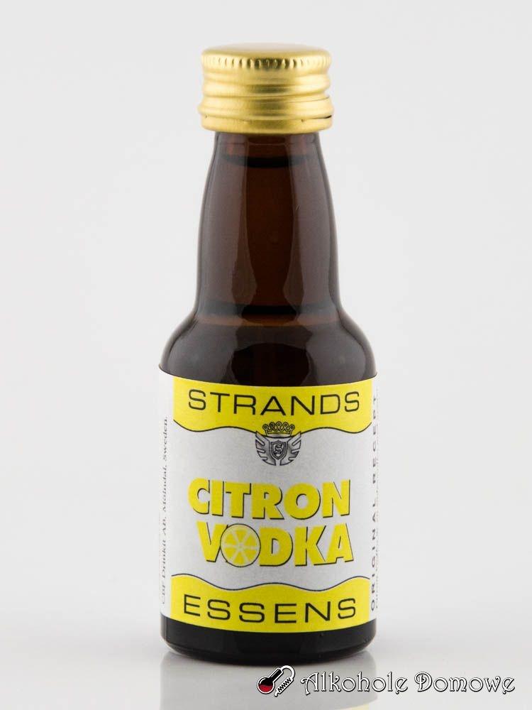 Pyszna zaprawka do sporządzenia wódki cytrynowej.