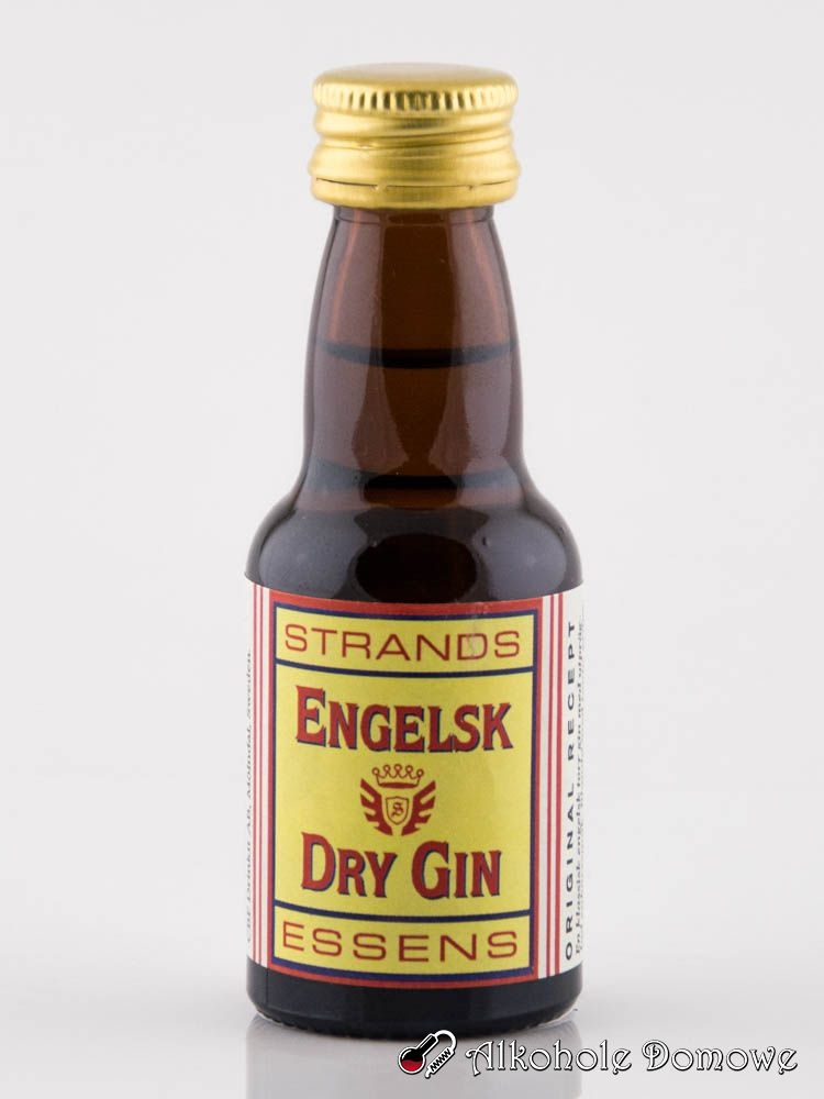 Smak i aromat wytrawnego angielskiego ginu. Zaprawkę należy wlać do butelki 0,7 litra i uzupełnić alkoholem o odpowiedniej dla siebie mocy. Produkt jest gotowy po 24 godzinach.
