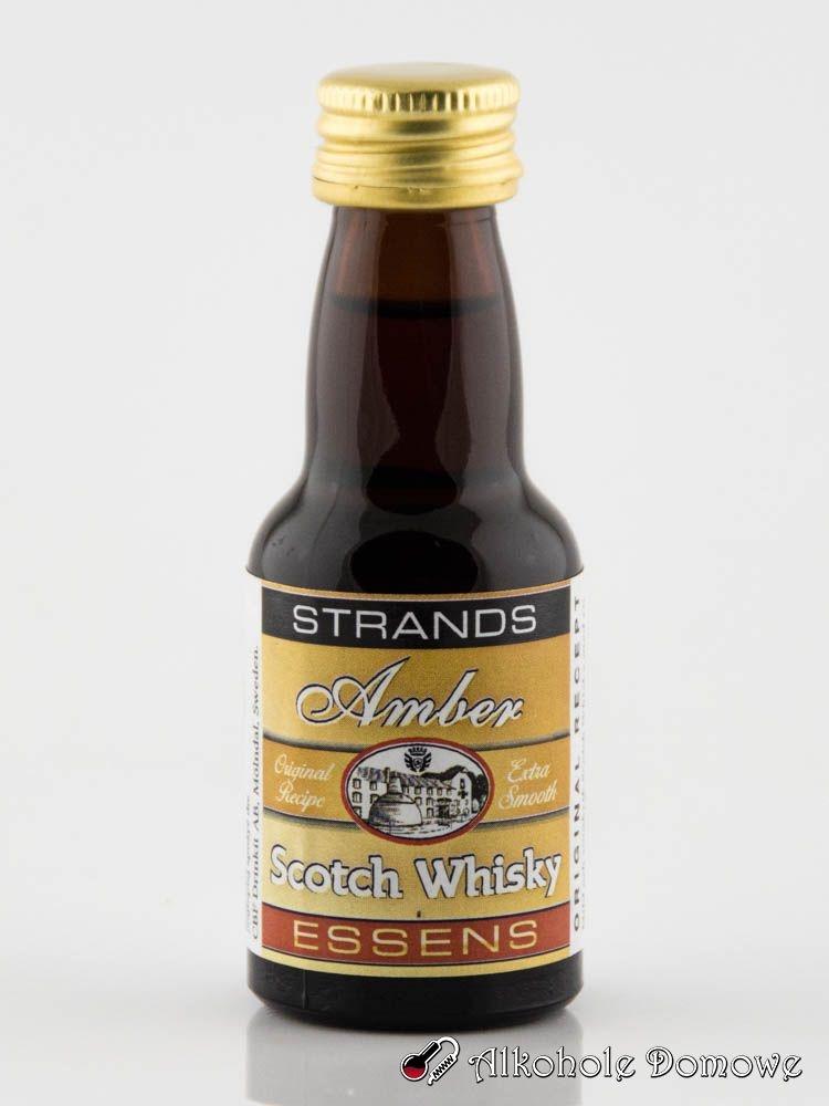 Prosty sposób na zrobienie aromatycznej bursztynowej whisky