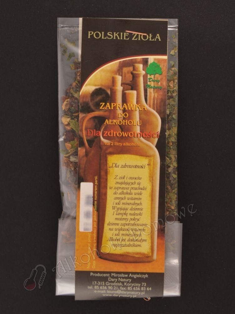 Z ziół i owoców znajdujących się w zaprawce przechodzi do alkoholu wiele cennych witamin i soli mineralnych. Wypijając 1 lampkę nalewki możemy pokryć dzienne zapotrzebowanie na większość witamin soli mineralnych.