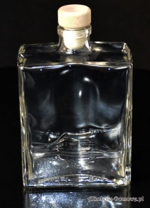 Butelka - karafka Capri 500 ml + korek grzybek