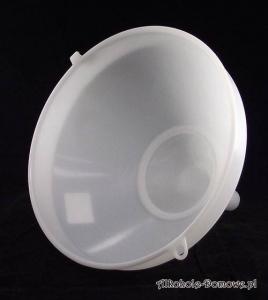 Lejek plastikowy fi 25 cm z sitkiem do filtracji moszczu