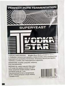 Drożdże T Vodka Star