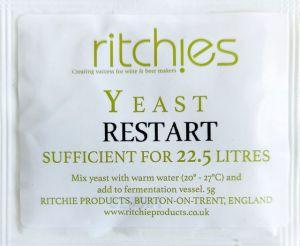 Ritchie-drożdże do restartu na 22,5 l