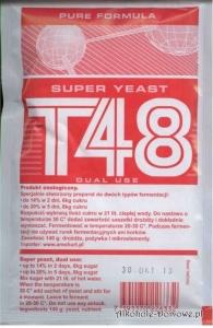 Drożdże T 48 (czerwone)
