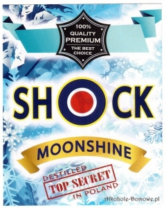 Etykieta do butelek Shock Moonshine (nr 359)