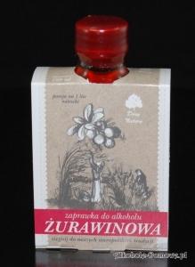 Zaprawka do alkoholu - Żurawinowa 100 ml