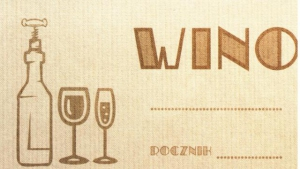 Etykieta 338 old wino 45x80