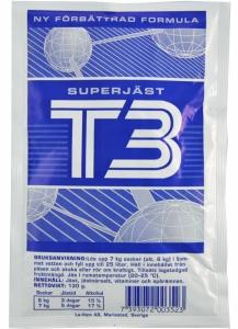Drożdże T3 (niebieskie)