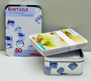 Koktajle dla znawców-50 kart w pudełku
