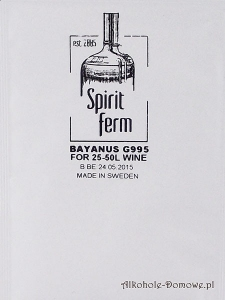 Drożdże Bayanus G995 Spiritferm 10g