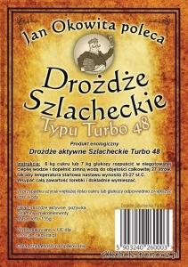 40szt.Drożdże Szlach.Turbo48+wys.gratis