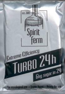 Drożdże Spiritferm Turbo 24H