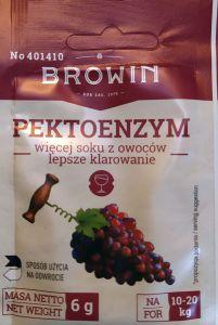 Pektoenzym suszony 6g Browin