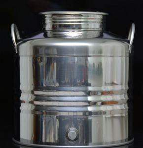 TRE Inox bańka 30 l z zaślepką