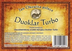 Duoklar Turbo - Jan Okowita - komplet 10 sztuk