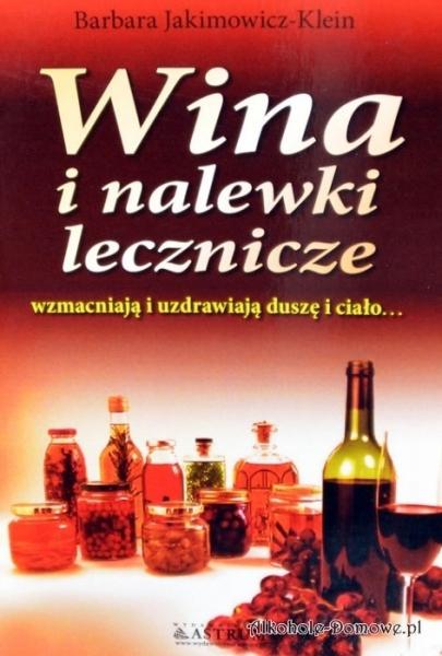 Książka - Wina i nalewki lecznicze