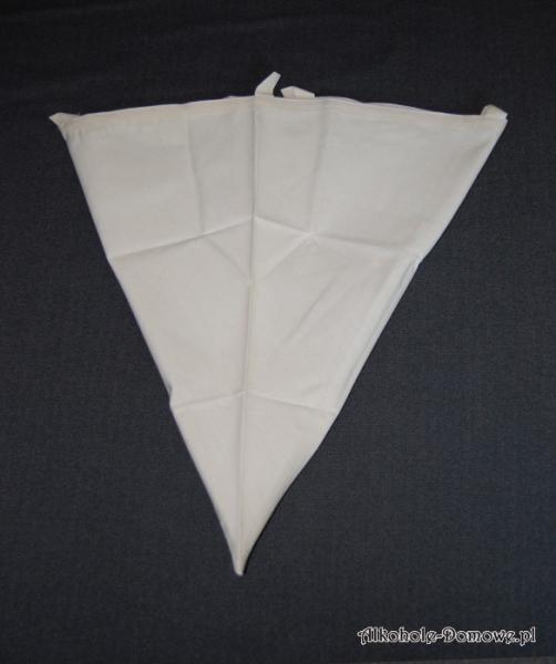 Worek do filtracji moszczu - stożek 7 litrów