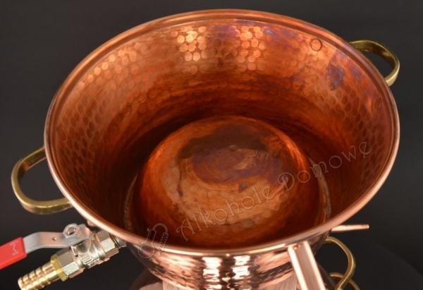 Alembik Miedziany Alquitar Three Bodies 15 litrów (nr 1116)