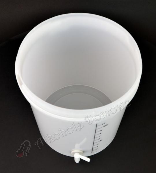 Pojemnik fermentacyjny 15 l z podziałką i kranem