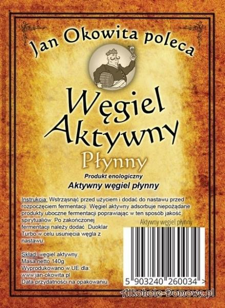 Węgiel Aktywny Płynny - Jan Okowita