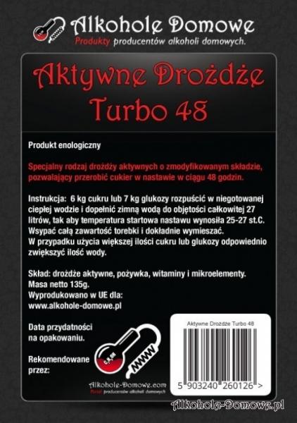 AD Aktywne Drożdże Turbo 48