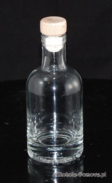Butelka Nocturne 200 ml + korek grzybek