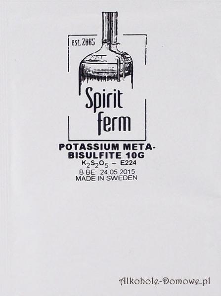 Pirosiarczyn potasu Spiritferm 10g
