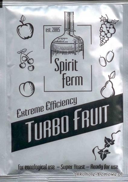 Drożdże Spiritferm Turbo Fruit 40g (z enzymem pektolaza)