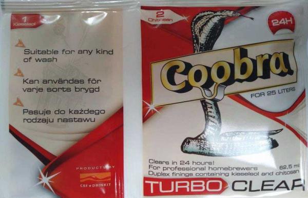 Coobra Clear Turbo 25litrów