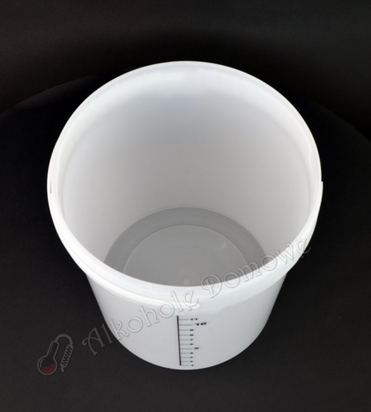 Pojemnik fermentacyjny 15 litrów z podziałką