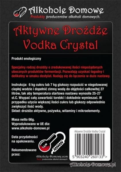 AD Drożdże Vodka Crystal