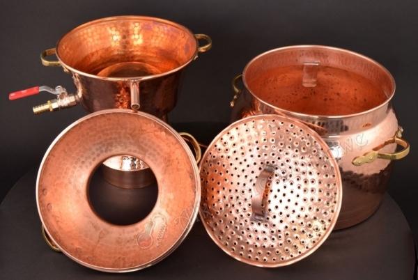 Alembik Miedziany Alquitar Three Bodies 30 litrów (nr 1118)