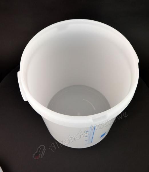 Fermentor plastikowy z miarką, szwedzki 30L