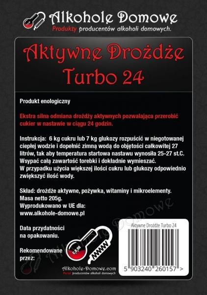 AD Aktywne Drożdże Turbo 24