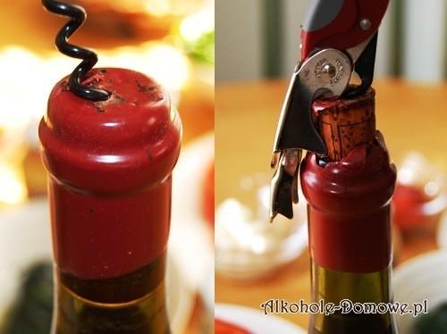 Lak do butelek czerwony, elastyczny