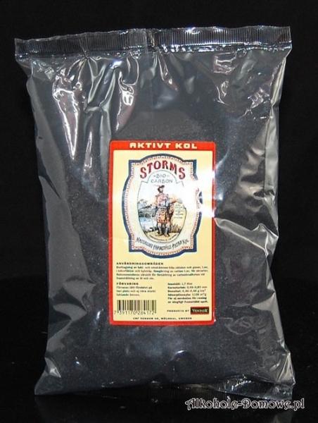 Węgiel aktywny Storms kokosowy 1,7 litra