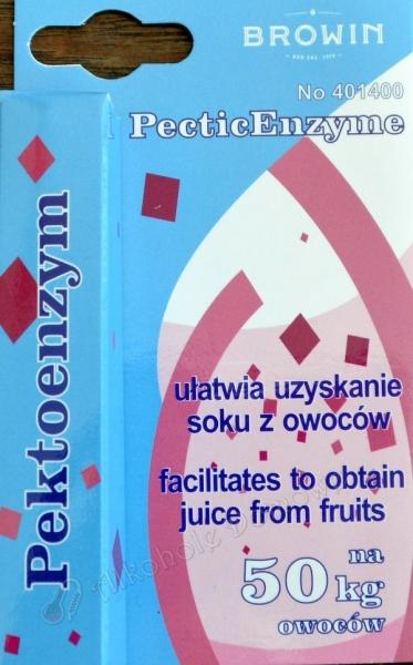 Pektoenzym 10 ml na 50 kg owoców - Browin